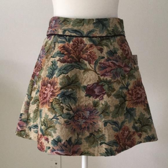 ffdd48f12 Free People Skirts | Tapestry Mini Skirt | Poshmark